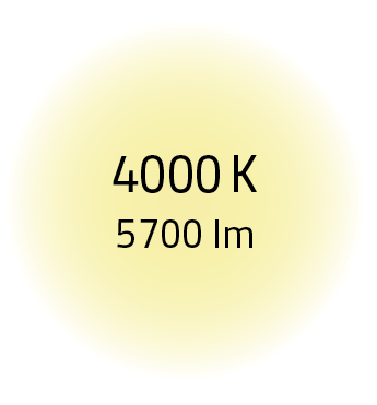 4000K5700LM